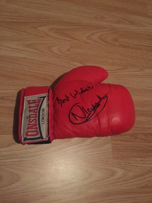 Nathan Cleverly glove